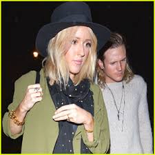 ellie goulding wears ring on left after getting matching