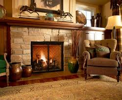 earthy living room smoke comfy sofa white fireplace mante brown