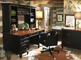 Home Office Design Layout Traditional Desk With Decorative Hutches For Small Professional