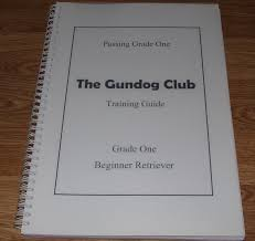 the gundog club training guide amazon co uk the gundog club