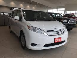 toyota new 2017 2017 toyota sienna for sale in grimes ia toyota of des moines