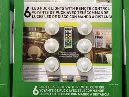 led puck lights costco capstone led puck lights 6 pack with remote control costcochaser