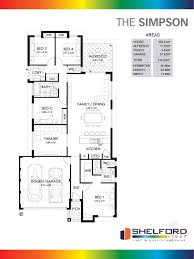 Simpsons Floor Plan The Simpson Home Design Shelford First Our Winning Specification