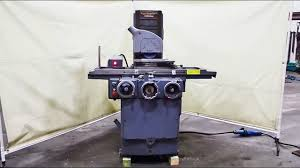 brown u0026 sharpe 1 1 2 hp 6 u201d x 18 u201d surface grinder youtube
