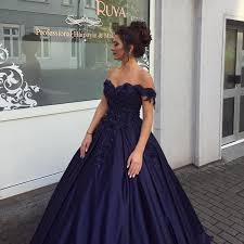 engagement dresses navy blue gowns shoulder wedding dresses 2017 engagement