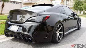 hyundai genesis back hyundai genesis coupe rear bumpers and