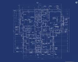 blueprints house blueprint in house home deco plans