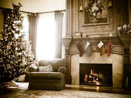 gorgeous vintage home christmas deco showing affordable christmas