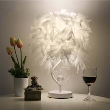 online get cheap feather table lamps aliexpress com alibaba group