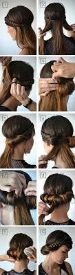 Sch E Hochsteckfrisurenen Mittellange Haare by Mer Enn 25 Bra Ideer Om Hochsteckfrisuren Mittellanges Haar På