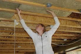 Spray Insulation For Basement Walls Basement Dow 2lb Spray Foam On Basement Ceiling Youtube Pertaining