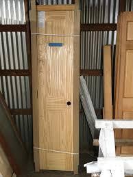 Interior Doors Prehung Door 18 X 80 Interior Two Panel Right Hand Prehung With Case Pine