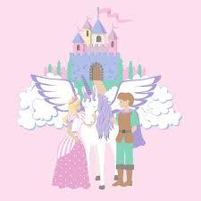 the princess unicorn wall mural customer photos and alternate images the princess unicorn wall mural