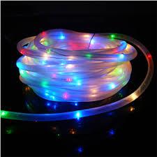 solar powered tube lights 2 pcs 7m white 50 led solar powered tube light fairy string