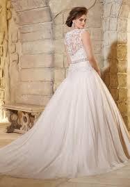 mori lee julietta 3181 wedding dress lace v neck cap sleeve a line
