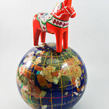 shop folk art horse on wanelo