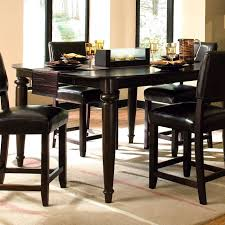 Metal Dining Room Sets by Gray Polished Metal Dining Fascinating Tall Dining Room Tables