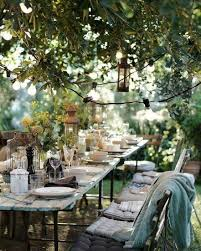 best 25 outdoor table settings ideas on dinner