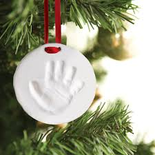 babyprints ornament pearhead