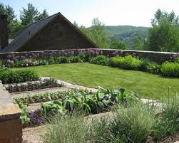 midcentury modern vegetable garden houzz