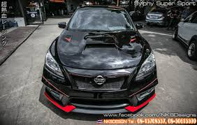 nissan sylphy impul ช ดแต ง sylphy nismo super sport จาก nekketsu racing youtube