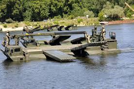 amphibious truck world record set for longest amphibious vehicle bridge during