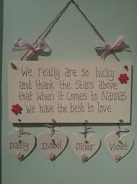 handpainted wooden nanna or grandma gift sign neat ideas