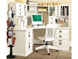 Pottery Barn White Desk With Hutch Desk Home Office Corner Computer Desk With Hutch Corner Office