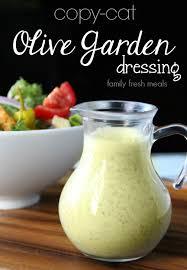 Olive Garden Thanksgiving Copycat Olive Garden Salad Dressing Recipe Family Fresh Meals