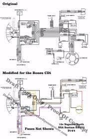 bsa wiring diagram b b wiring org wiring loom for bones cdi d d
