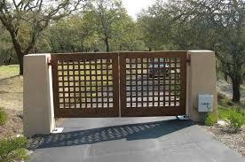 wooden gate designs for any kind of houses u2014 unique hardscape design