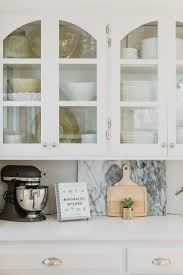 glass kitchen cupboard shelves small space organizing kitchens style dwell glass