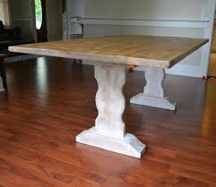 farm table reclaimed wood dining table whitewash dining