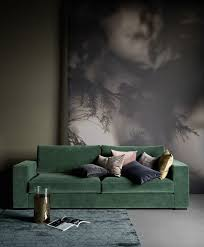 Olive Green Sofa by Best 25 Green Sofa Ideas On Pinterest Green Living Room Sofas