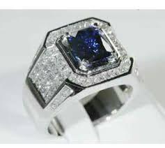 jual cincin blue safir aphiessilver