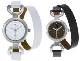designer damenuhren neu designer damenuhr lederband doppeltes armband weiß o grau