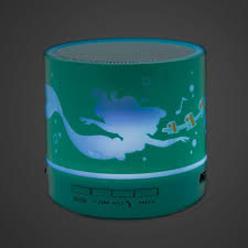 light up bluetooth speaker ariel light up bluetooth speaker oh my disney shopdisney