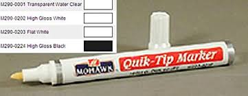 high gloss white kitchen cabinet touch up paint mohawk quik tip touch up marker high gloss