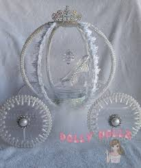 Cinderella Carriage Centerpieces by Carriage Cake Topper Centerpiece Decoration Item By Dollydollz
