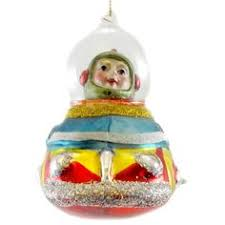 frowning francis spaceship ornaments ornament
