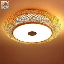 Zen Ceiling Light Modern Led Pendant Flush Mount Ceiling Fixtures Light Japanese