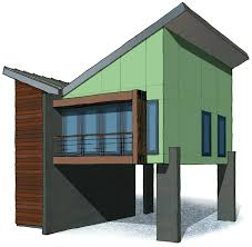 Loft Garage Plans by Architectural Designs 3 Car Modern Garage Plan Gives You Over 1000