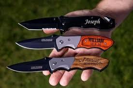 groomsmen knife personalized pocket knife engraved knives for groomsmen