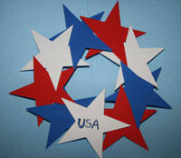 Easy Arts And Crafts For Kids With Paper - kids 4th of july crafts all kids network