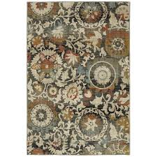 Nature Area Rugs Shop Mohawk Home Jeslynn Indoor Nature Area Rug Common 5 X 7
