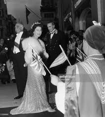 queen elizabeth ii arrives at claridges hotel in london as the
