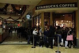 starbucks black friday stanford study starbucks customers eat healthier when calories