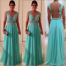 bridesmaid gowns aqua bridesmaid dresses sheer back cap sleeve lace chiffon