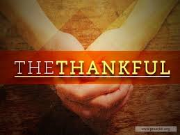 sermon by topic the thankful
