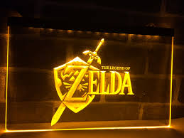 lh040 legend of zelda video game led neon light sign home decor